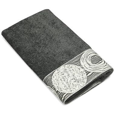 Avanti Linens Galaxy Hand Towel, Granite