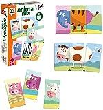 Diset- Juguete educativos Animal Mix (68948)