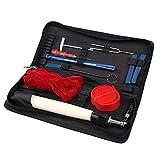 Piano Tuning Kit, 11 Stück Professional Klavier Tuning Tools inkl. Tuning Hammer Mute Schraubenschlüssel Hammer Griff-Set Werkzeuge und Fall