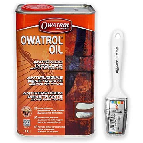 Owatrol Oil Owatrol-Rustol Auto antirouille multifonction pour peinture (1 litre avec pinceau)