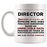 Definition Meaning Director Mug Best Boss Manager Coffee Cup Gift Precision Gesswork Base On Unreliable Data | Band HR Best Directors Choir Executive Camp Funeral Athletic Sales Activity Assistant