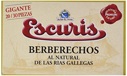 Escuris Berberechos Al Natural de Las Rías Gallegas - 130