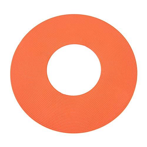 VGEBY1 Sport-schijfkegel, 5 kegels voor voetbal, markeerstiften, ruimte-markers, voor training buitenshuis, voetbalaccessoires