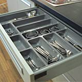 FITTINGSCO High Quality Plastic Cutlery Tray for Kitchen Drawers, Various Sizes/Formations