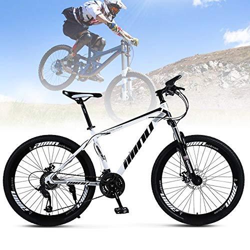 "Frezon Mountain Bike 26"" Wheels 21 Speed Carbon Frame Bicycle Disc Bicycles"
