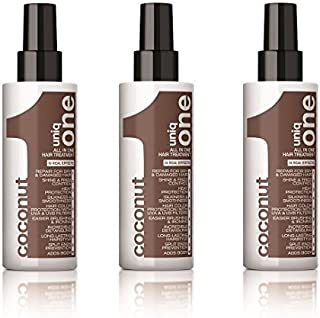 Uniq One Coconut Hair Treatment 150 ml All in One x 3 by Uniq One