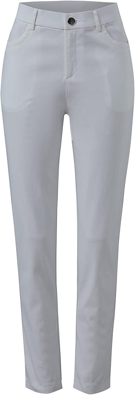 U/D Women's Solid Color Slim Fashion Trousers Casual Pants