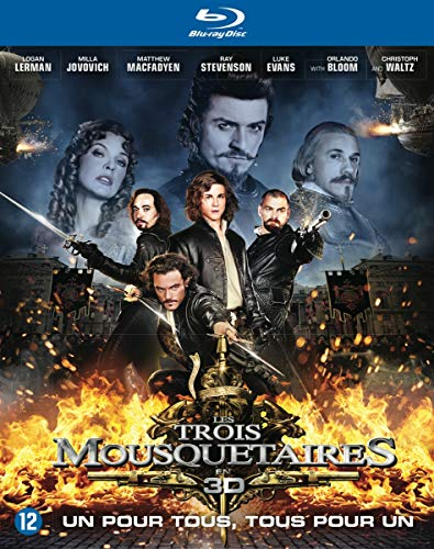 3 Mousquetaires (les) Real 3d [Blu-ray] [Import anglais]