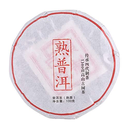 Té Pu-erh clásico, Pastel de té Puerh fermentado añejo, Té chino Yunnan Pu'er para bajar de peso