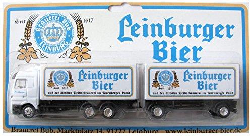 Brauerei Bub Nr.02 - Leinburger Bier - MB Actros - Hängerzug