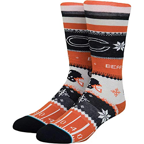 Stance NFL Holiday Sweater Socken (Gr. 43-46 (L), Chicago Bears)