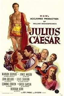 Julius Caesar Movie Poster (11 x 17 Inches - 28cm x 44cm) (1953) Style A -(James Mason)(Marlon Brando)(John Gielgud)(Greer Garson)(Deborah Kerr)(Louis Calhern)