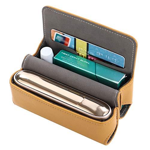 DrafTor DrafTor E Zigarette Tasche, PU Leder Zigarettenetui fr 3.0 mit Magnetabdeckung (nur Tasche)(braun)
