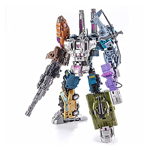 QKESS Transformers Toys, KO Transformers Toys Decepticons Hybrid Leopard 5In1 Robot Toy The Best Gift For Children Transformers Robot Toy.