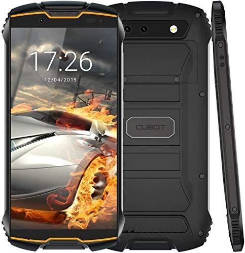 Kingkong Mini 4G Rugged Smartphone Unlocked, 4-inch Display, 3GB RAM + 32GB ROM, Android 9.0, Face ID, 4G Dual-SIM, Compass+GPS, Waterproof Shockproof, Dustproof