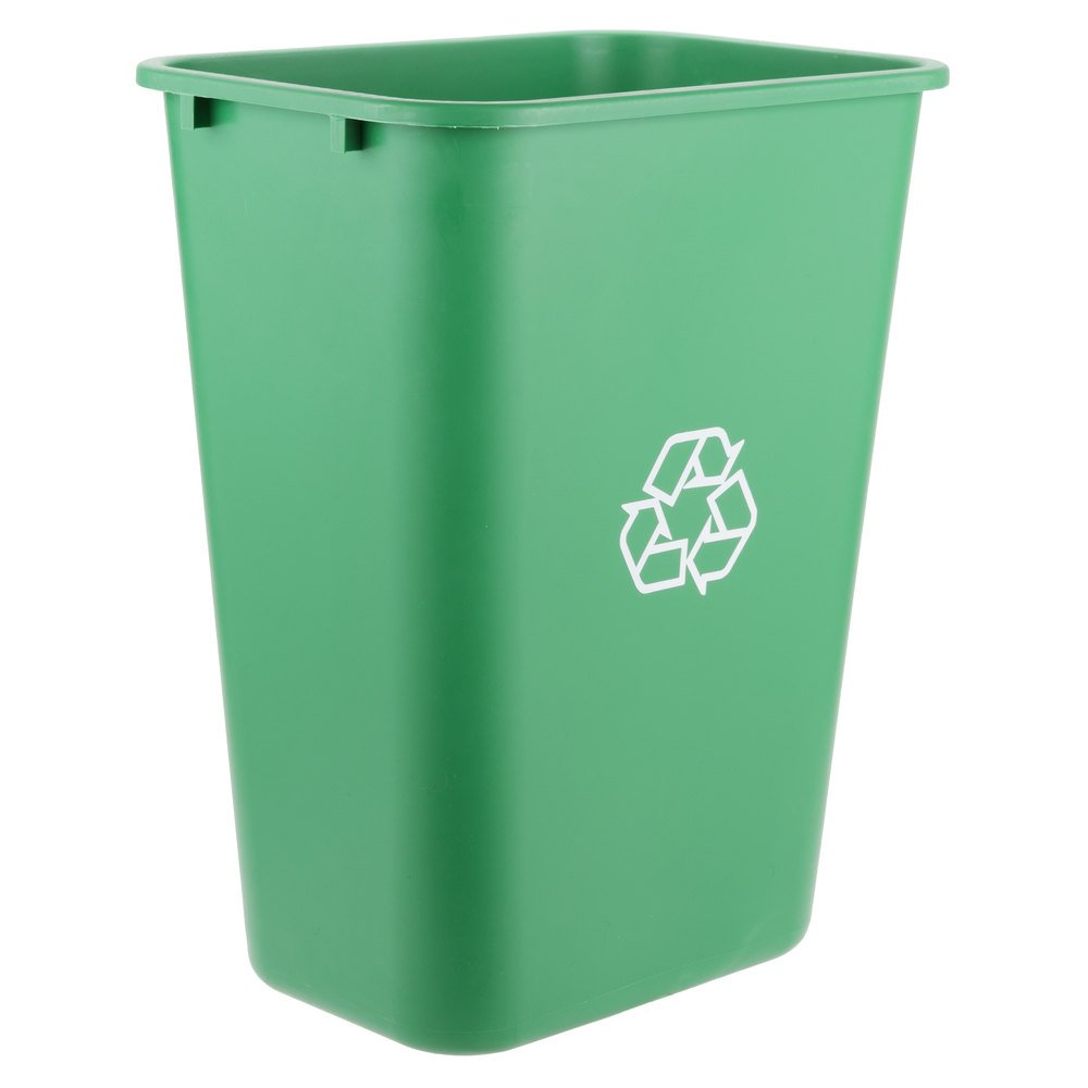 Pack 2021 spring and summer new of 15 41 Qt. Spasm price 10 Rec Liters Gallon Green Rectangular 38