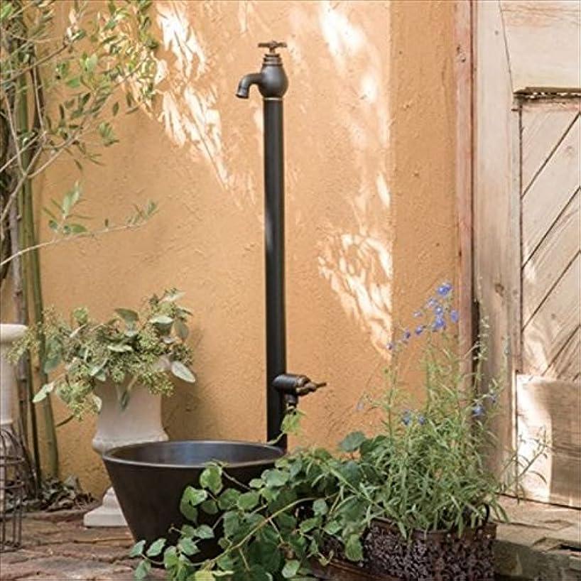 不足によって冬オンリーワン エポカW 水栓柱 TK3-SEWB (専用蛇口?補助蛇口付属)+水鉢セット マットブラック