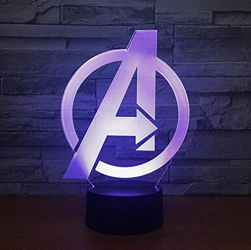 The Avengers Kids Lamp Venta al por mayor de mesa inteligent