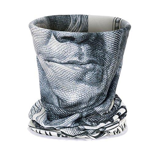 3D Printing Neck Tube Motorrad Bandana Hals UV-Schutz Neck Gaiter Bandana Gaiter Thin Ski Maske Multifunktionale Balaclava Kopfbedeckung Ohr Wärmer Stirnband Headwrap Paintball Fahrrad Bergsteigen