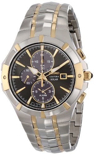Seiko Men's SSC198 Analog Display Japanese...