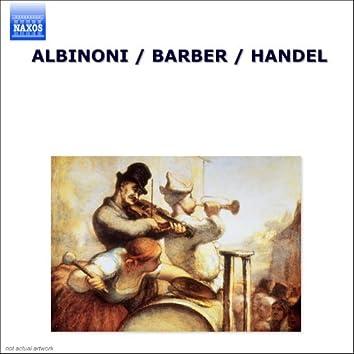 Albinoni / Barber / Handel (Uk)