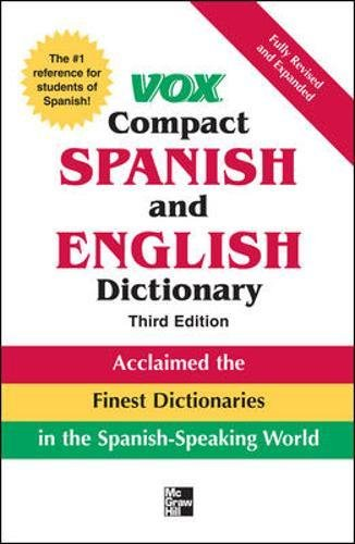 Vox Compact Spanish and English Dictionary, 3E (Vinyl)