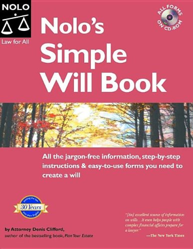 Download Nolo's Simple Will Book 6th Edition 