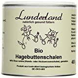 Lunderland - Bio-Hagebuttenschalen zur Stärkung des Immunsystems, 400 g, 1er Pack (1 x 400 g)