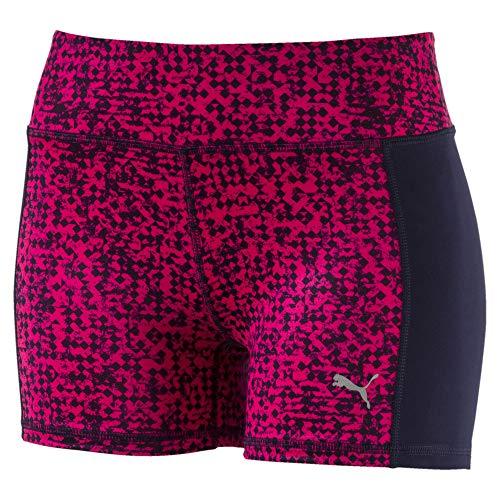 PUMA Damen Essentials Tights Shorts, Peacoat/No Color/Pink, Groß