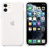 aiwe cover custodia compatibile apple iphone 11 (2019) 6,1,custodia liquid silicone per iphone11 (bianco)