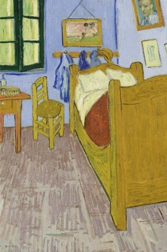 Van Gogh's Bedroom in Arles, Vincent van Gogh. Ruled journal: 160 Lined / ruled pages, 6x9 inch (15.24 x 22.86 cm) Soft cover. (Paper notebook, composition book)