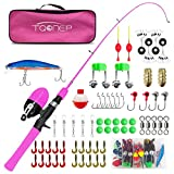 Best Fishing Pole For Kids - TQONEP Kids Fishing Pole,with Spincast Fishing Reel Tackle Review