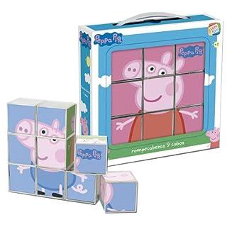 Cefa Toys- Peppa Pig Rompecabezas, 9 Cubos, Miscelanea (88233) (B008N9IAHA) | Amazon price tracker / tracking, Amazon price history charts, Amazon price watches, Amazon price drop alerts