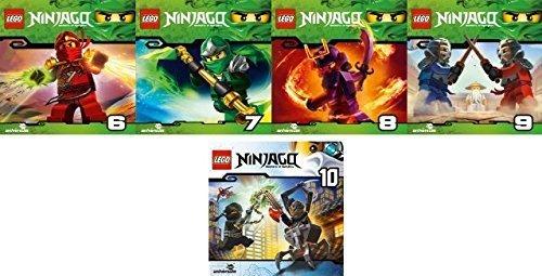 Lego Ninjago: Meister des Spinjitzu (CD 6 - 10) im Set - Deutsche Originalware [5 CDs]