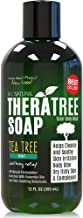 TheraTree Tea Tree Oil Soap with Neem Oil - 12oz - Helps Skin Irritation, Body Odor, Helps Restore Healthy Complexion for Body and Face by Oleavine TheraTree