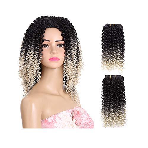 Tresser Les Cheveux Bouncy Curl Kenzie Curl Pré-Boucle Tresses De Crochet Cheveux Synthétiques 14 Pouces 2 Pack Tresses De Cheveux Courte Nouvelle Arrivée Tresses Africaines