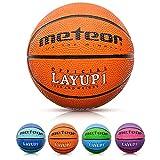 Balón Baloncesto Talla 1 Pelota Basketball Bebe Ball Infantil Niño Balon Basquet - Baloncesto Ideal para los niños y jouvenes para Entrenar y Jugar - Tamaño 1 Layup (#1, Naranja)