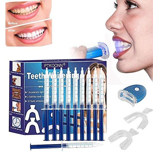 Kit Blanchiment Dents,Nouvelle Génération-Gel Blanchiment DentaireRéutilisable PratiqueKit de...