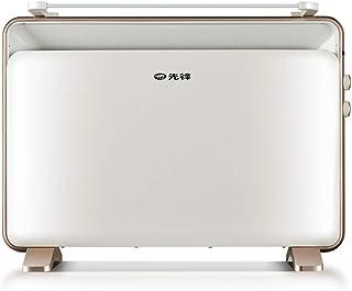 Heaters NAUY@ Calefactor eléctrico Independiente del Panel de Oro, Calentador Plano convector a Prueba de Agua del Cuarto de baño, Silencio 2000W Riscaldatori di spazio