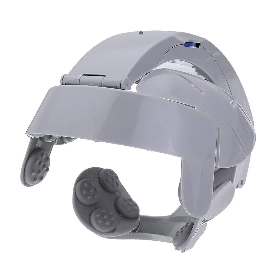 持続する裁量行動ヘッド振動マッサージ電動ヘッドマッサージリラックス脳経穴ストレス解放マシンポータブルのためのホーム使用