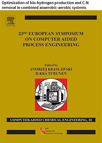23 European Symposium on Computer Aided Process Engineering: Optimization of bio-hydrogen production...