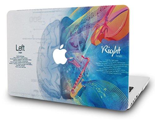 KECC Hülle für MacBook Pro 13 (2020/2019/2018/2017/2016, Touch Bar) Schutzhülle Case Cover MacBook Pro 13.3 {A2289/A2251/A2159/A1989/A1706/A1708} (Gehirn 3)