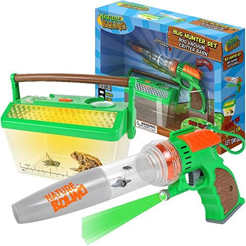 Nature Bound NB508 Bug Catcher Vacuum with Light Up Critter Habitat Case for Backyard Exploration - Complete kit for Kids