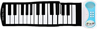 Limaomao Roll Up Piano Electronic Piano Keyboard Silicone Elastic Professional USB 49-Key MIDI Roll Up for Beginners