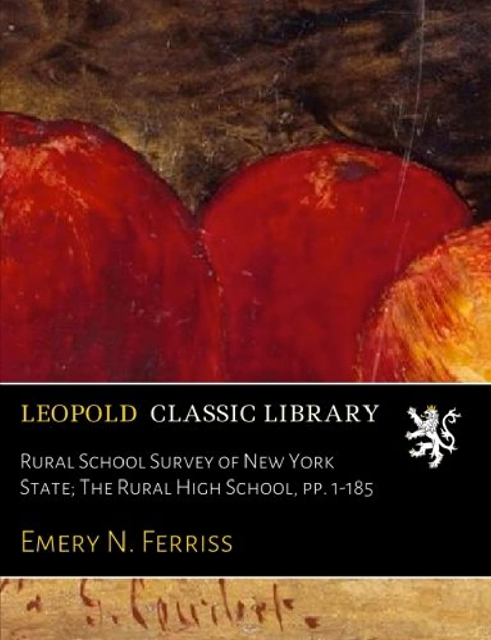 散文ミトン政治的Rural School Survey of New York State; The Rural High School, pp. 1-185