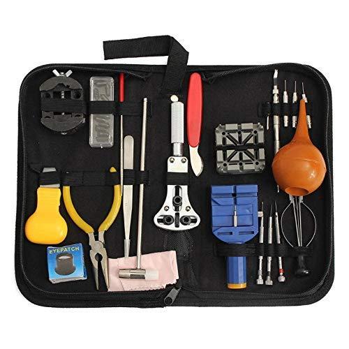 ZGYQGOO 22pcs Uhr-Kasten-Ouml;ffner-Band-Verbindungs-Pin-Schraubendreher-Fruuml;Hlings-Stab-Reparatur-Hebel-Taktgeber-Uhr-Reparatur-Werkzeug-Kit