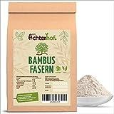 Bambusfasern Low Carb | 500 Gramm | Kontrollierte Qualität | Low Carb Mehl | Bambusfasermehl | Ballaststoffmehl | direkt vom Achterhof