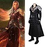 Rubyonly El Carnaval del Traje de Cosplay de Final Fantasy VII Remake de Final Fantasy Sephiroth Hombres de Halloween,Wholewithoutboots,M