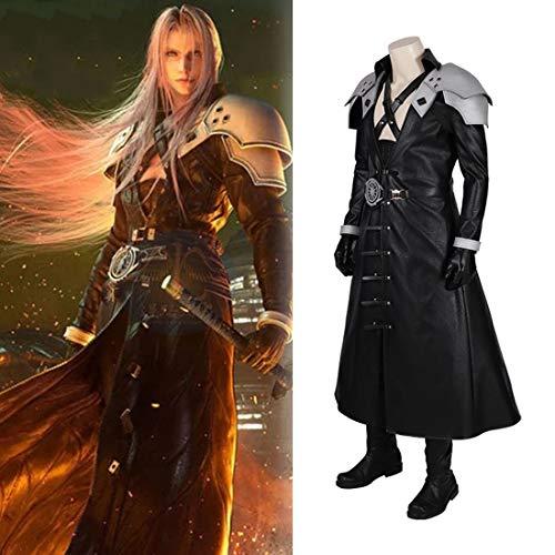 Rubyonly Final Fantasy VII Remake Sephiroth Final Fantasy Cosplay Männer Halloween Karnevalskostüme,Wholewithoutboots,M