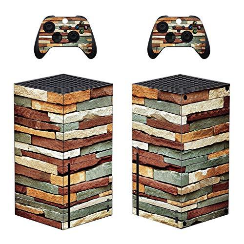Cananmite Skin Sticker für Xbox Serie X (XBOX nicht im Lieferumfang enthalten) (Rot)